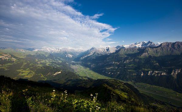 Klettersteig Lauterbrunnen : Klettersteig tierbergli swiss
