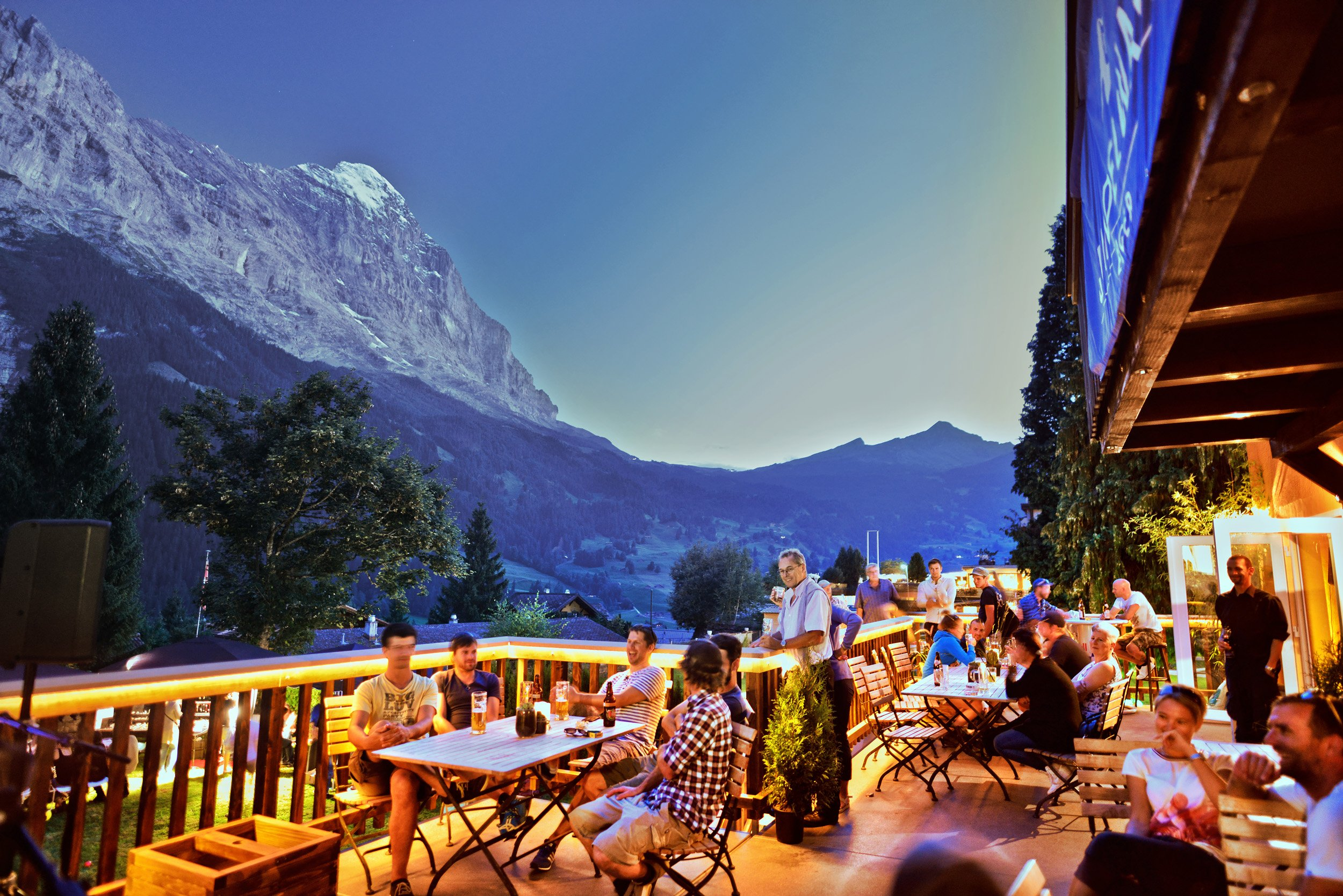 Terrasse Avocado Bar, Grindelwald
